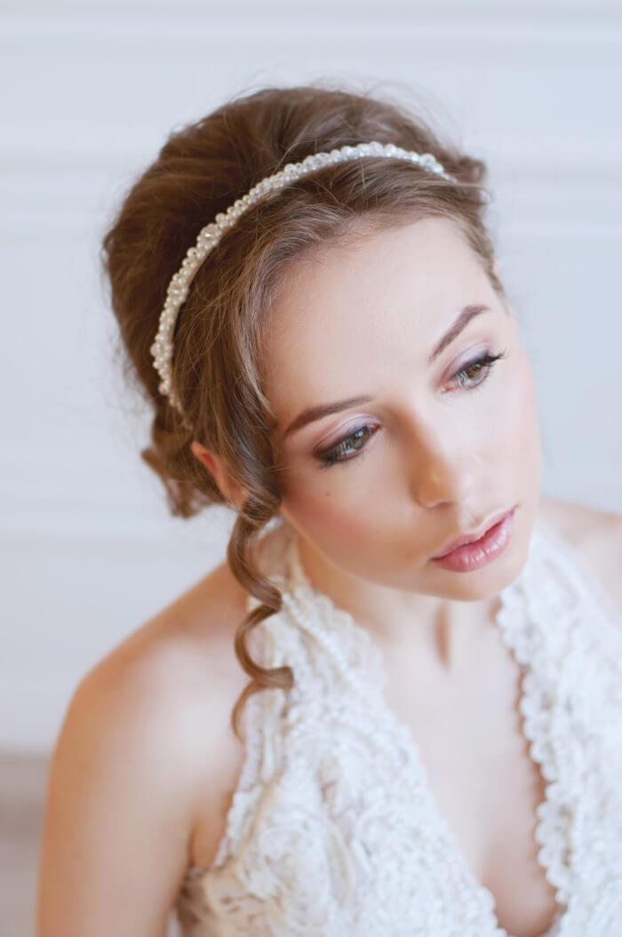 Pearl Bridal Headband 3 | Oriflowers