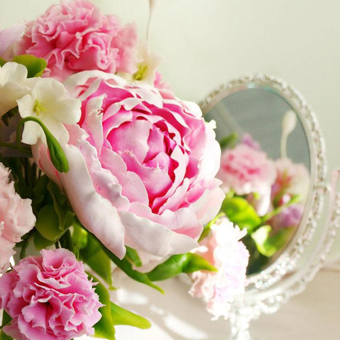 Peony Flower Arrangement 1 | Oriflowers