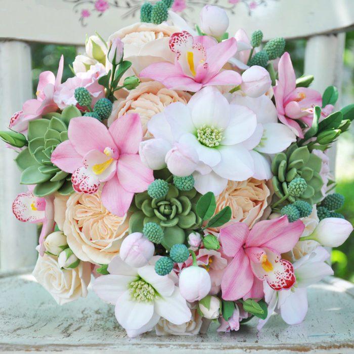 Pink Orchid Wedding Bouquet 1 | Oriflowers