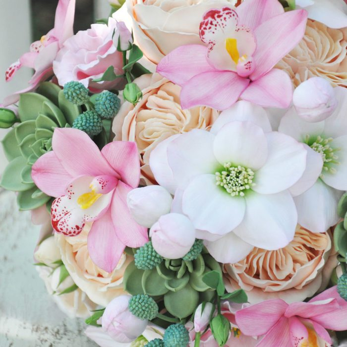 Pink Orchid Wedding Bouquet 3 | Oriflowers