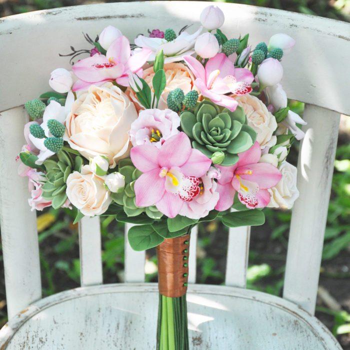Pink Orchid Wedding Bouquet 4 | Oriflowers