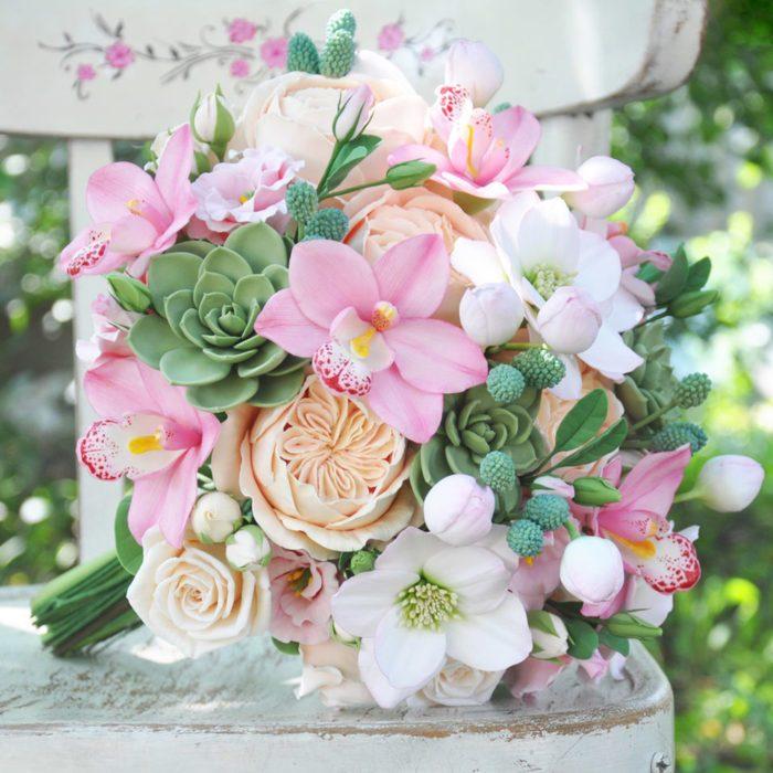 Pink Orchid Wedding Bouquet 5 | Oriflowers