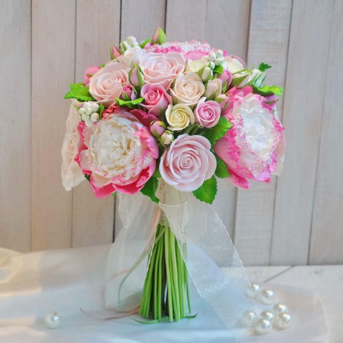 Pink Peony Bridal Bouquet 3 | Oriflowers