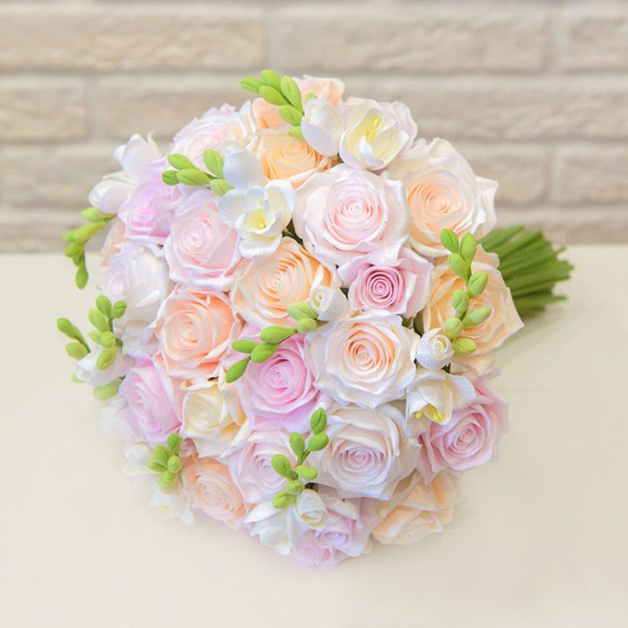 Pink Rose Wedding Bouquet 2 | Oriflowers