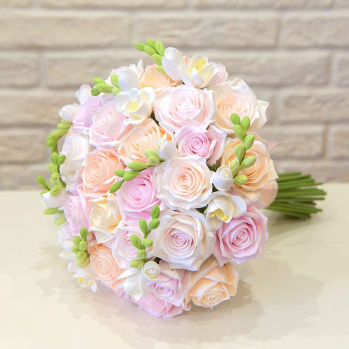 Pink Rose Wedding Bouquet 3 | Oriflowers