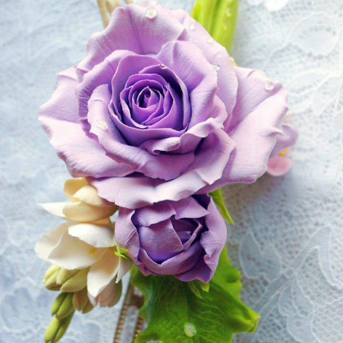 Purple Hair Clip 1 | Oriflowers