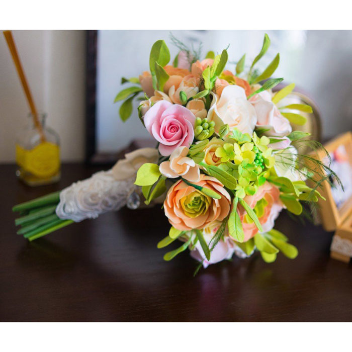 Ranunculus Bridal Bouquet 1 | Oriflowers