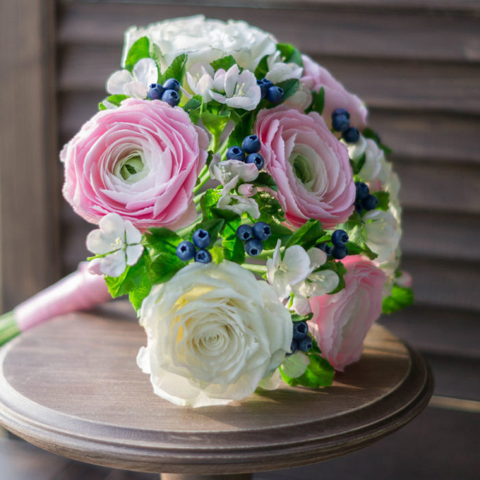 Ranunculus Wedding Bouquet | Oriflowers