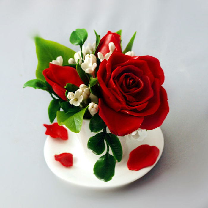 Red Rose Flower Arrangement 1 | Oriflowers