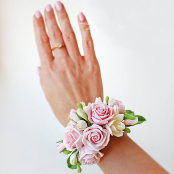 Rose Flower Bracelet 2 | Oriflowers