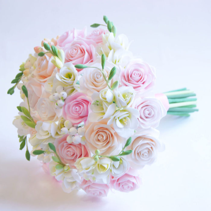 Rose Wedding Bouquet 1 | Oriflowers