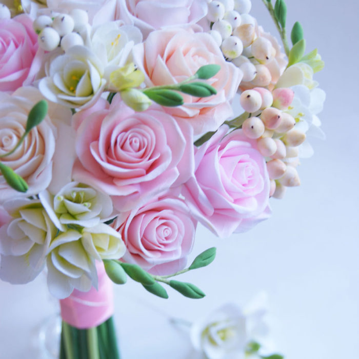 Rose Wedding Bouquet 2 | Oriflowers