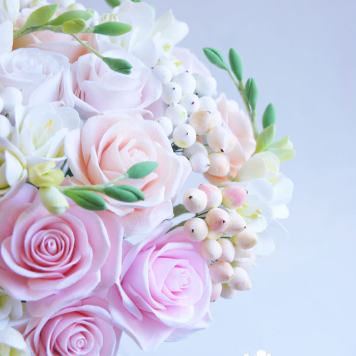 Rose Wedding Bouquet 3 | Oriflowers