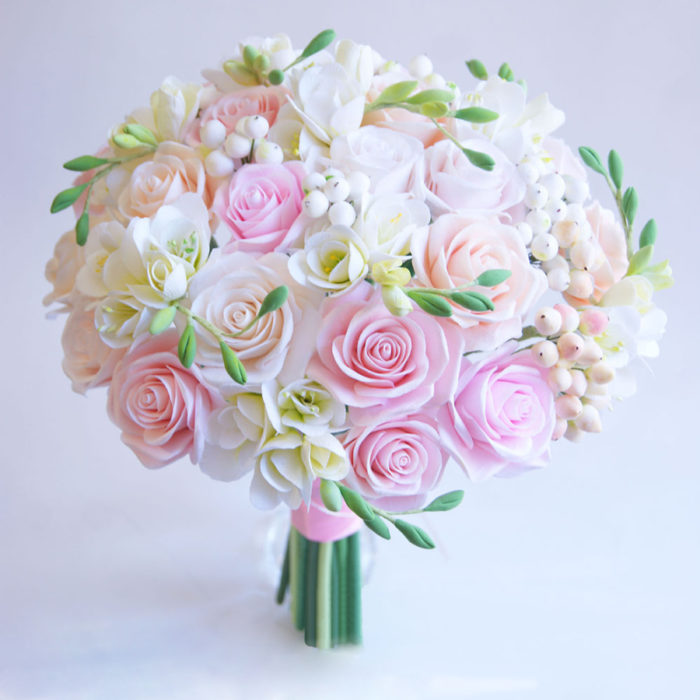 Rose Wedding Bouquet | Oriflowers
