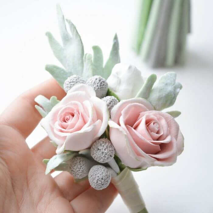 Rustic Boutonniere | Oriflowers