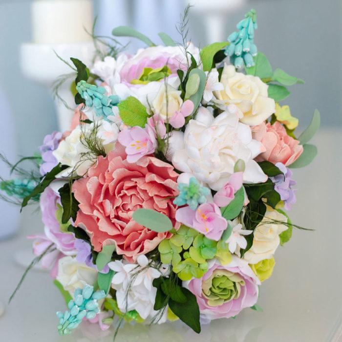 Rustic Wedding Bouquet 3   Oriflowers