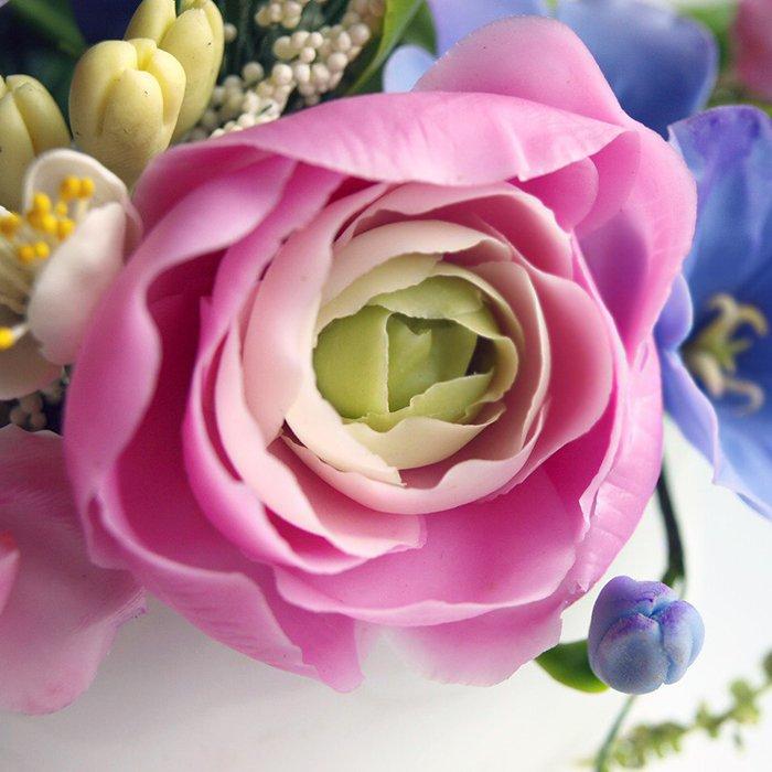Oriflowers & Small Vase Flower Arrangement - Handmade With Love | Oriflowers