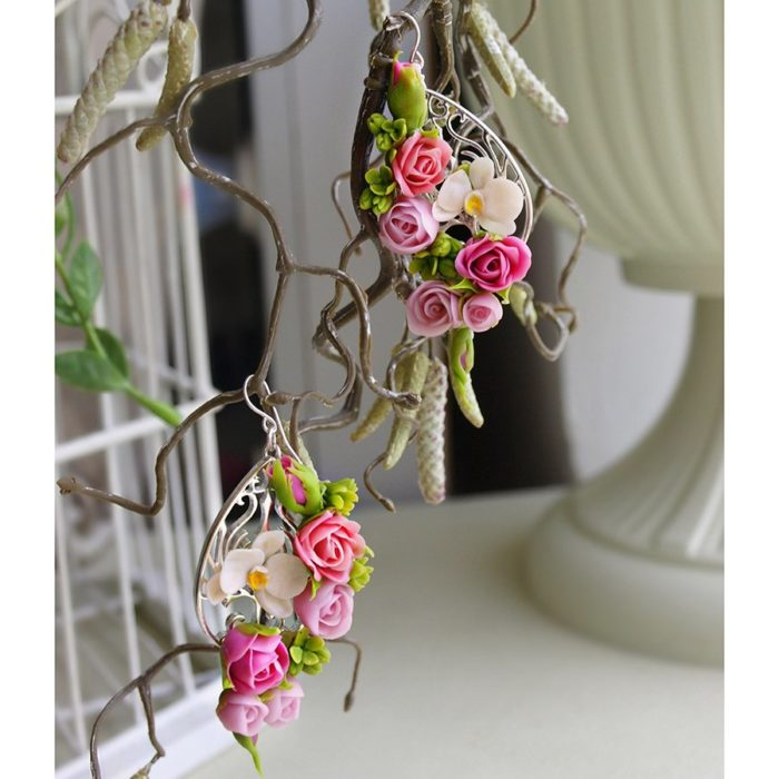 Tiny Flower Earrings Fashion Jewelry | Oriflowers