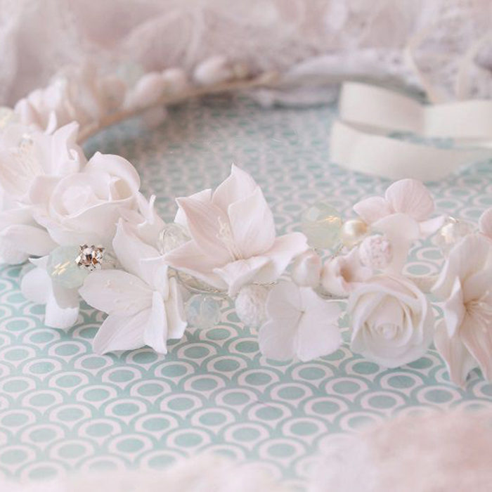White Flower Crown 1 | Oriflowers