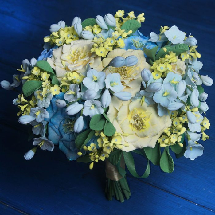 Wildflower Wedding Bouquet 4 | Oriflowers