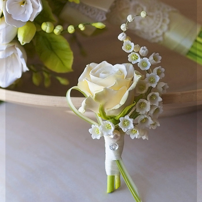 Yellow Rose Boutonniere 3 | Oriflowers