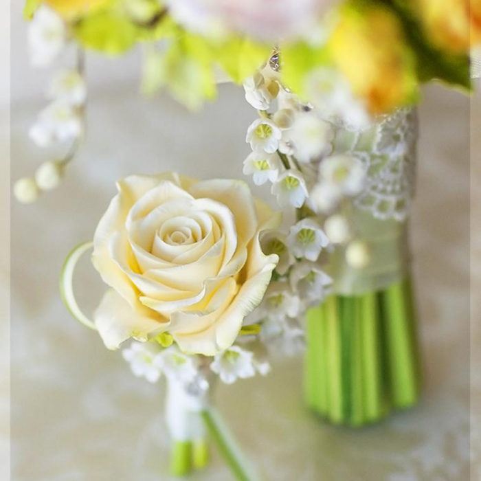 Yellow Rose Boutonniere | Oriflowers