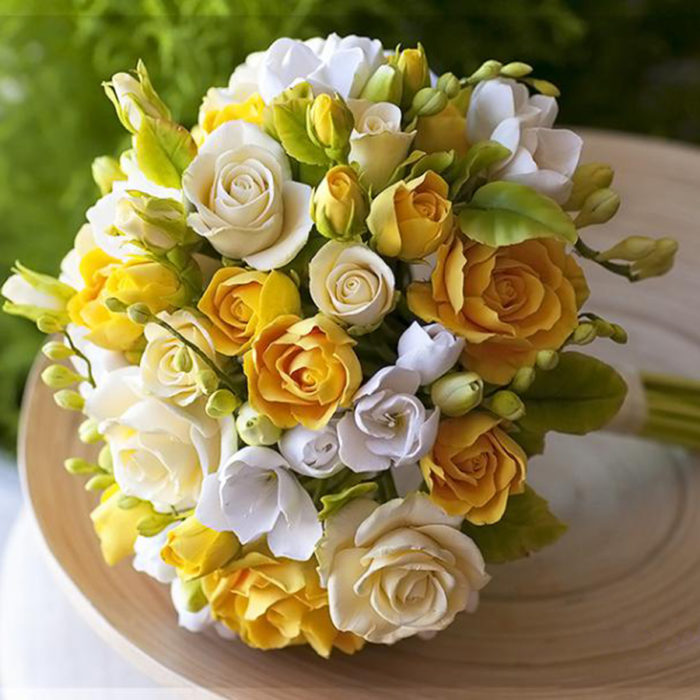 Yellow Rose Bridal Bouquet 5 | Oriflowers