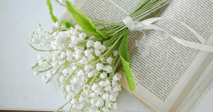 Lily Of The Valley Wedding Bouquet
