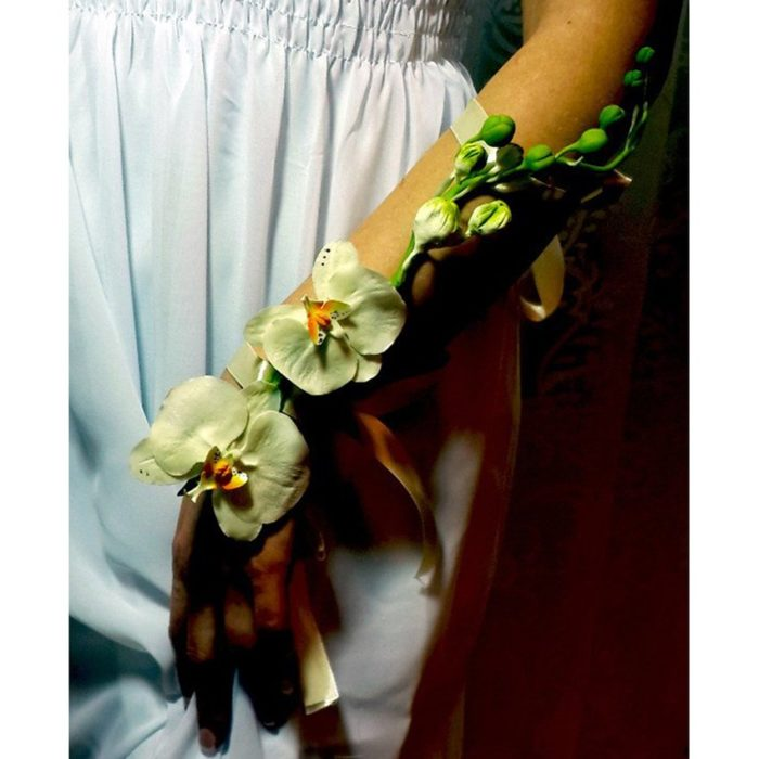 wedding bracelet with orchids | Oriflowers